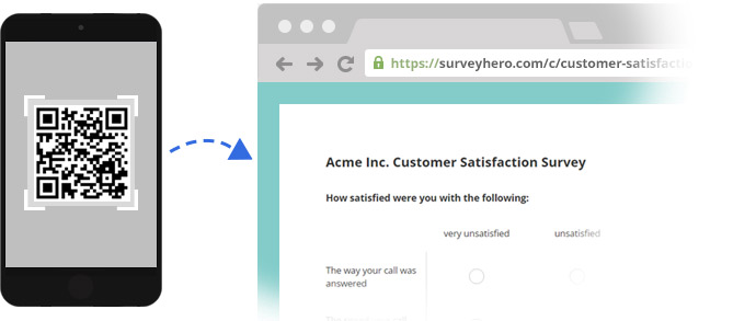 Easily Share your Online Survey using QR Codes