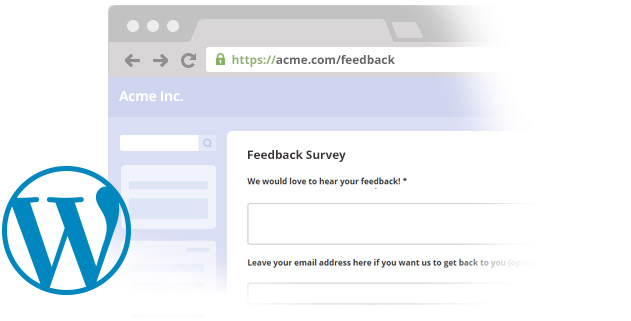 Embed your Online Survey directly in your WordPress Website