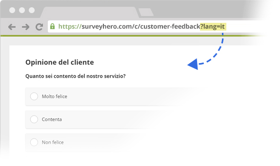 Add Survey Language to your Survey Links